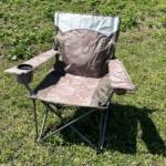 コストコの『ティンバーリッジ キャンプ用 クワッドチェア』がポケット付きで座り心地も最高!