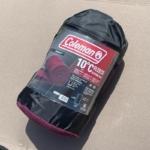 コールマンのフリース寝袋『フリーススリーピングバッグ』をコストコで買いました!