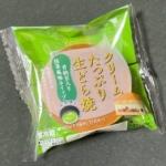 ヤマザキの『クリームたっぷり生どら焼(甘納豆入り抹茶風味ホイップ)』がふわもち生地で超おいしい!