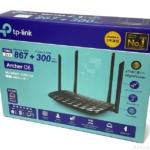 TP-Linkの『Archer C6』がWiFi 無線LAN ルーターで 867Mbps+300Mbps対応で早い!
