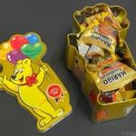 コストコの『ハリボー100周年記念ゴールデンベア缶』が限定デザインの缶にグミが入って可愛い!