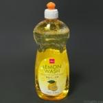 ダイソーの『食器洗い洗剤(レモンウォッシュ)』がレモンの香りで泡立ちも良い!