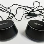 Amazonベーシックの『ダイナミックサウンドスピーカー USB接続 PC コンピュータ ブラック』を買ってみました!