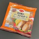 コープの『レンジで甘辛味のソースとんかつ 250g』がお弁当サイズで超おいしい!