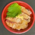 はま寿司の『はまちとまだいの漁師漬け丼』がタレと大葉にゴマで超おいしい!