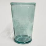 100均の『クラリスコップ L ブルー』がたっぷり370ml入るコップでオシャレで良い!
