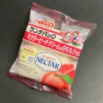 ヤマザキの『ランチパック ネクターピーチクリーム&白ももジャム』が果肉も入って超おいしい!