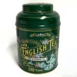 コストコの『トラディショナルイングリッシュティー240個(2021)』がオシャレな緑色の缶に入って可愛い!