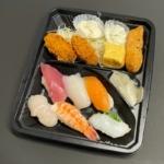 はま寿司の『寿司弁当(広島県産カキフライ)』が寿司7貫とカキフライで超おいしい!