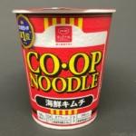 コープの『コープヌードル海鮮キムチ』が白菜入りで超おいしい!
