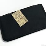 無印良品の『ポリエステルパスポートケース・クリアポケット付 黒』が考えられた使いやすさ!