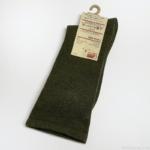 無印良品の『足なり直角 かかとに合う テーパード靴下(紳士・えらべる)24-28cm・カーキグリーン』がピタッとシンプル!